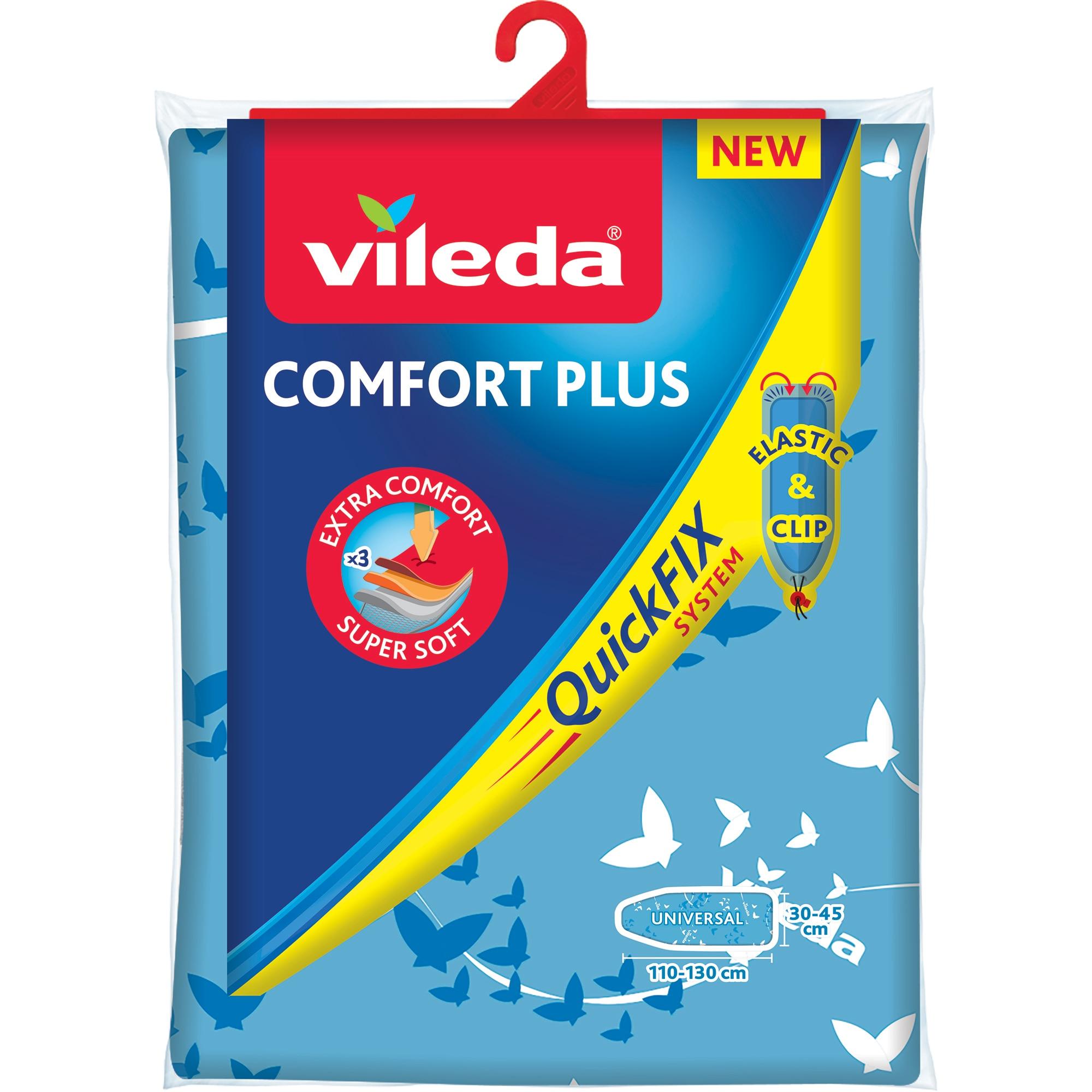 Fotografie Husa Vileda Comfort Plus, universala, 110-130 / 30-45 cm