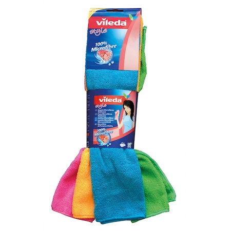 Микрофибърна кърпа Vileda, 4 бр