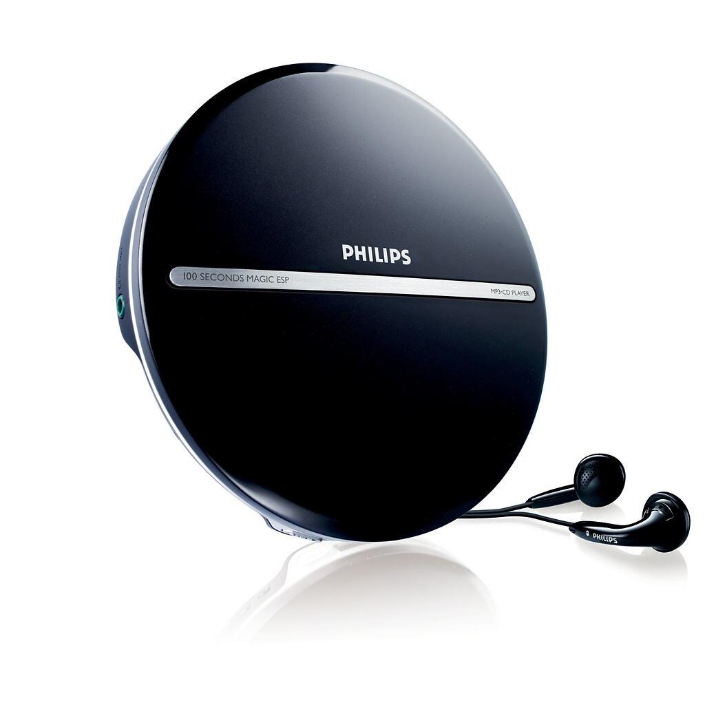 Fotografie MP3 Player Portabil Philips EXP2546, Blue