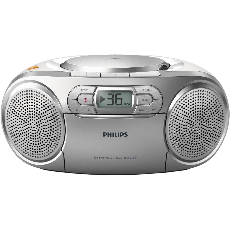 Fotografie Microsistem audio Philips AZ127/12, Dynamic Bass, CD, caseta