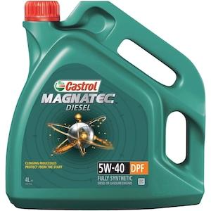 Моторно масло Castrol Magnatec Diesel DPF, 5W40, 4л