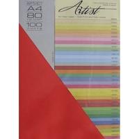 Копирна хартия Artist Color А4 80g, 4х25л. наситен, оп. 5