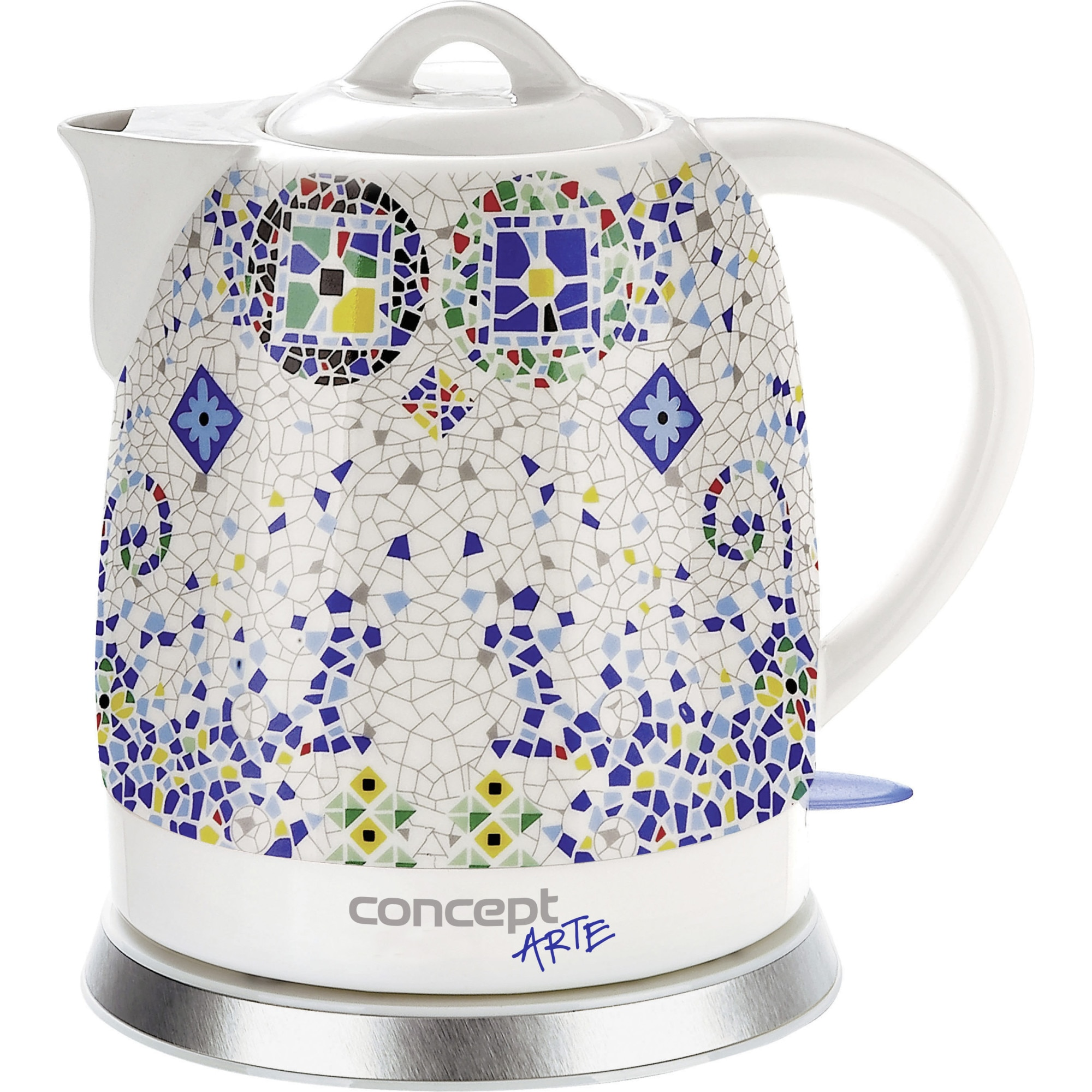 Fotografie Fierbator Concept Ceramica ,1350W, 1.5 l, Ceramic, Mozaic