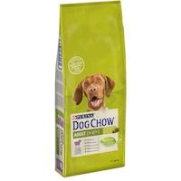 Суха храна за кучета Dog Chow Adult, Агнешко и ориз, 14 кг