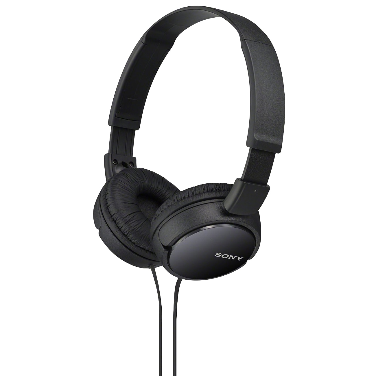 Fotografie Casti audio Sony MDRZX110B, tip DJ, Negru
