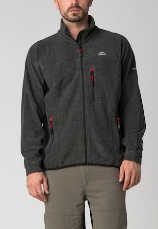 Trespass, Fleece Sweatshirt MAFLFLK20001-BLACK