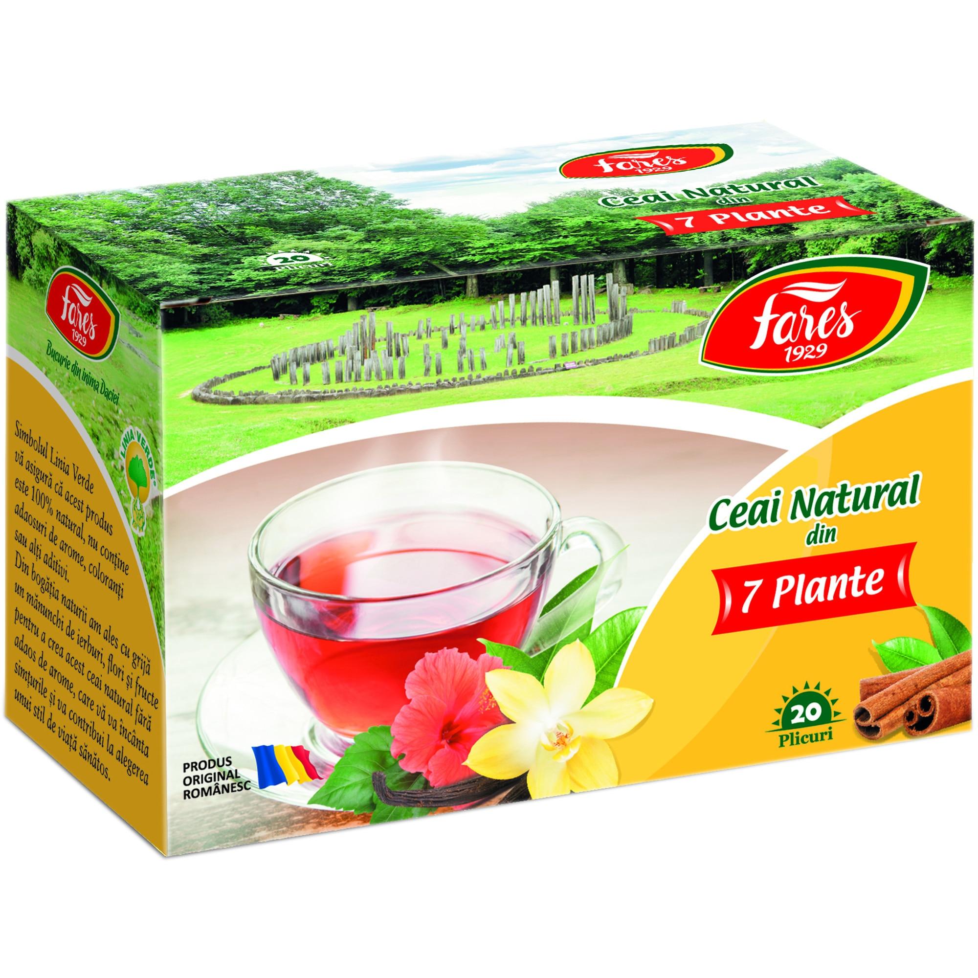 ceai verde fares pt slabit