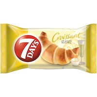 Croissant cu crema cu aroma de vin spumant 65g 7Days