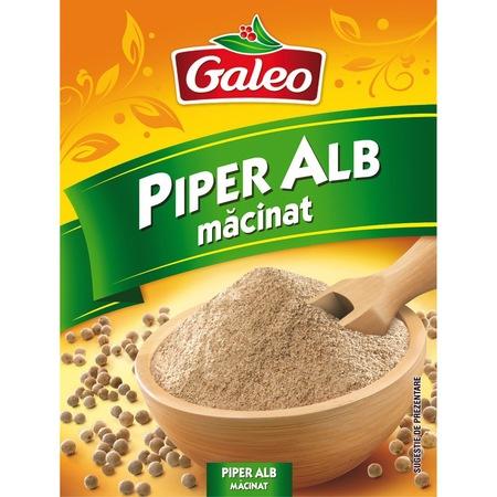 Piper alb macinat 15g Galeo