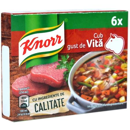 Cub cu gust de vita 54g Knorr