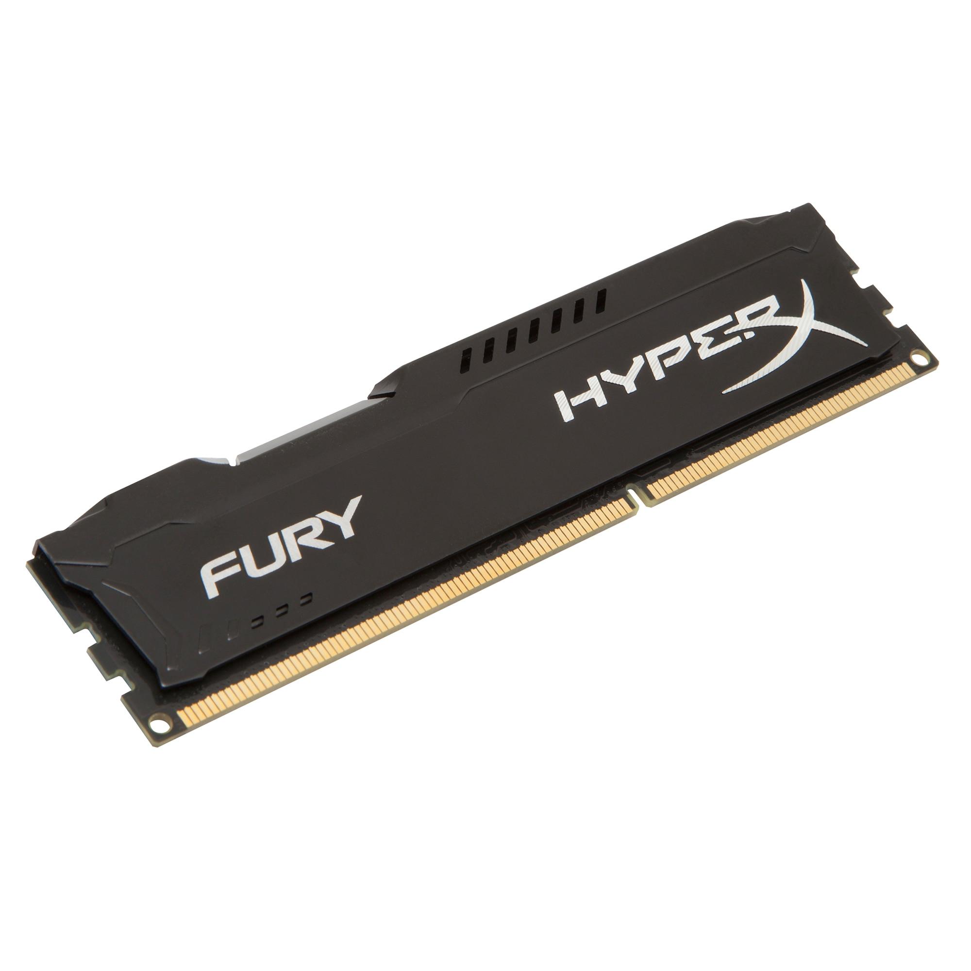 Fotografie Memorie HyperX FURY Black 8GB, DDR3, 1866MHz, CL10, 1.5V