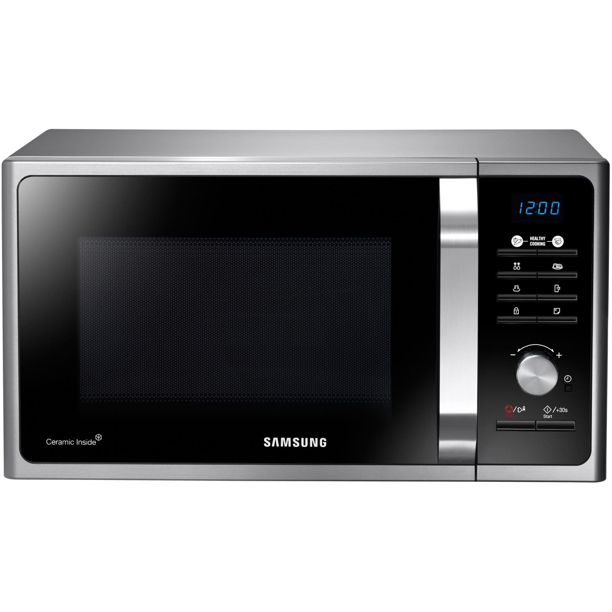 Fotografie Cuptor cu microunde Samsung MS23F301TAS, 23 l, 800 W, Digital, Silver