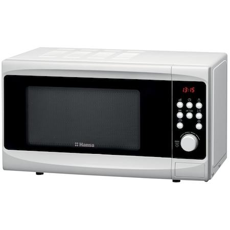 Hansa AMG20E70GVH mikrohullámú sütő, 20 l, 700W, Digitális, Fehér