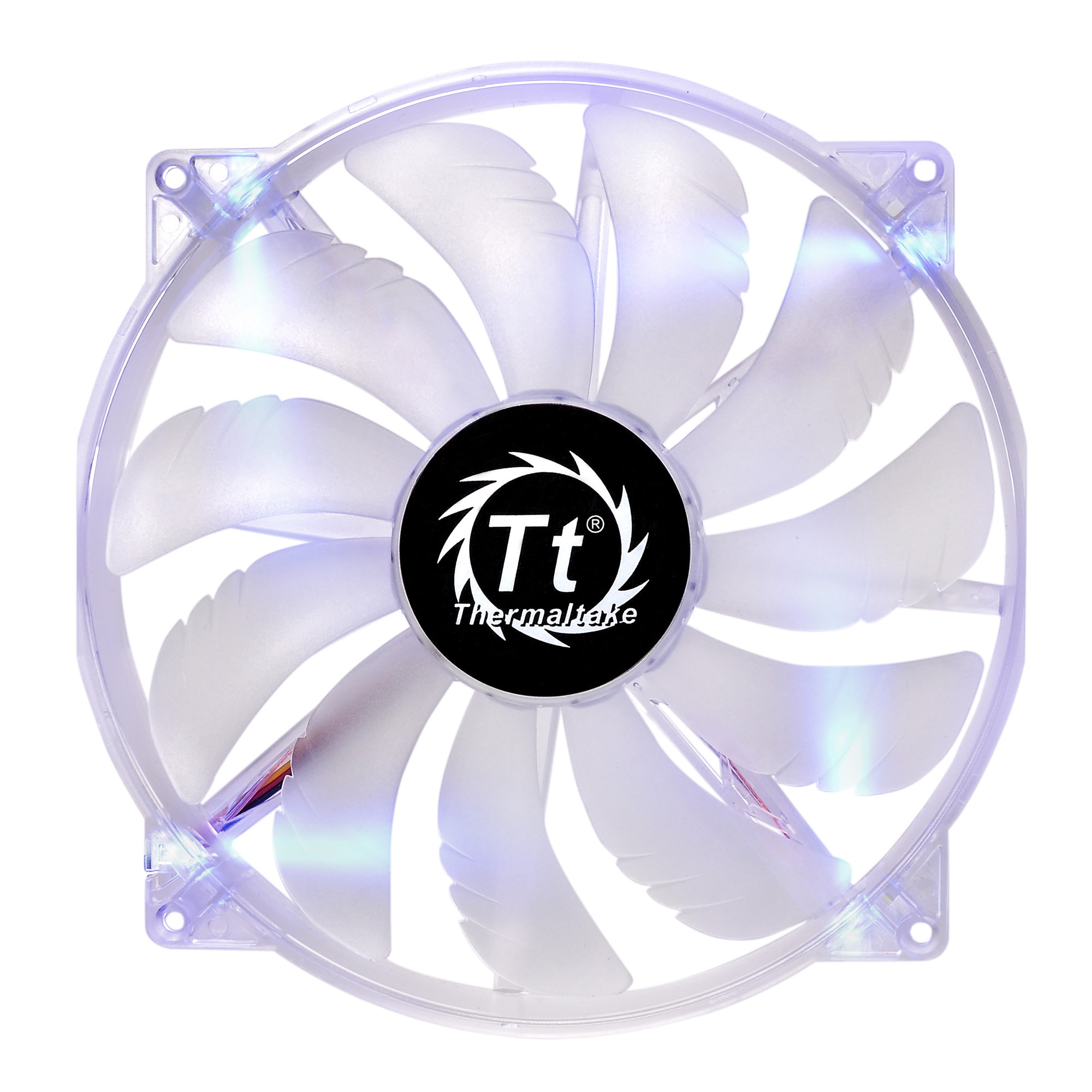 Fotografie Ventilator Thermaltake Pure 20, 200mm, 800 RPM, Blue LED