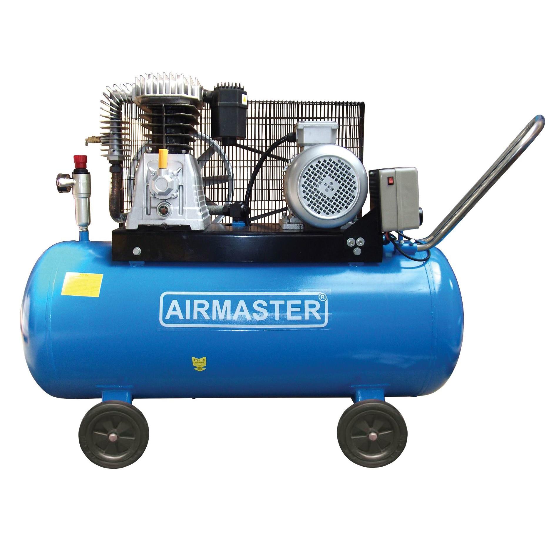 Fotografie Compresor cu piston Airmaster AIR5.5SHU10200, 200 l, 4000 W, 10 Bar