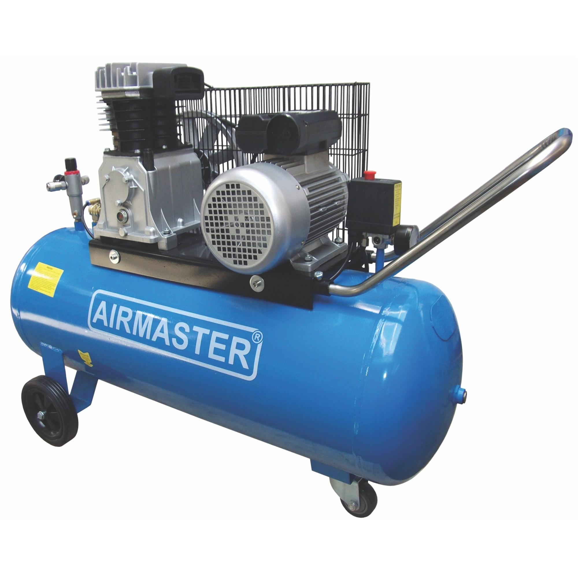 Fotografie Compresor cu piston Airmaster AIR3SHU10100, 100 l, 2200 W, 10 Bar