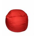 Fotoliu (Mediu) Matusalem - Montana Red (Gama Diamond) husa detasabila, Transformabil in pat, Fabricat in Romania, umplut cu fulgi de burete memory mix®, marca Pufrelax
