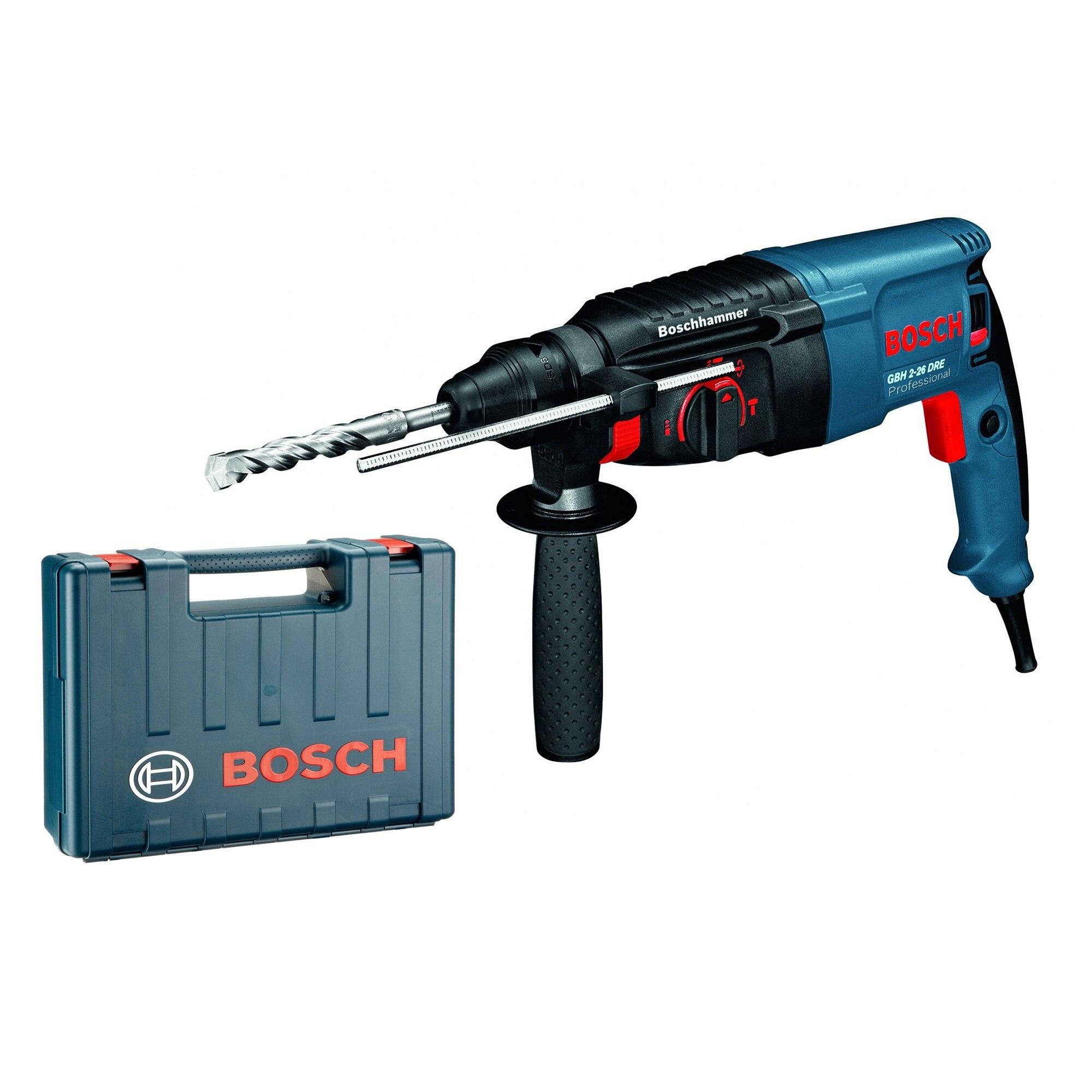 Fotografie Ciocan rotopercutor Bosch Professional GBH 2-26 DRE, 800 W, 900 RPM, 2.7 J, fabricat in Germania