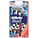 Самобръсначка Gillette Blue 3 Pride, Еднократна употреба, 3 броя