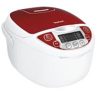 Tefal Fuzzy Logic RK705 Multicooker, 600 W, 5 l, Automatikus program, Időzítő, Fehér/Piros
