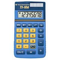 Calculator de birou avansat Texas Instruments TI-106 II, afisaj 2 linii