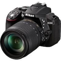 Фотоапарат DSLR Nikon D5300, 24.2MP, Черен + Обектив 18-105mm VR