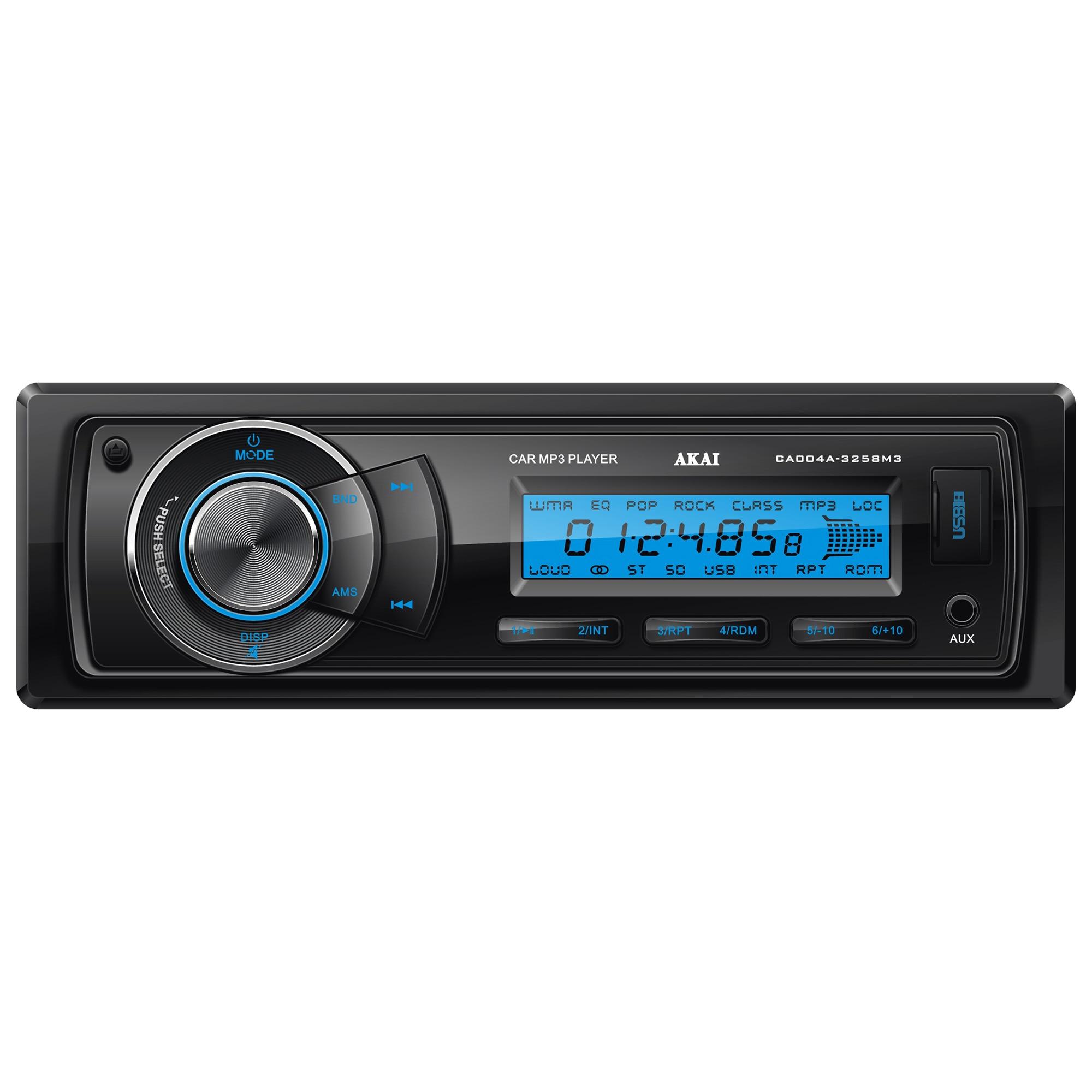 Fotografie Radio auto Akai CA004A-3258M3, 4x20W, USB, AUX