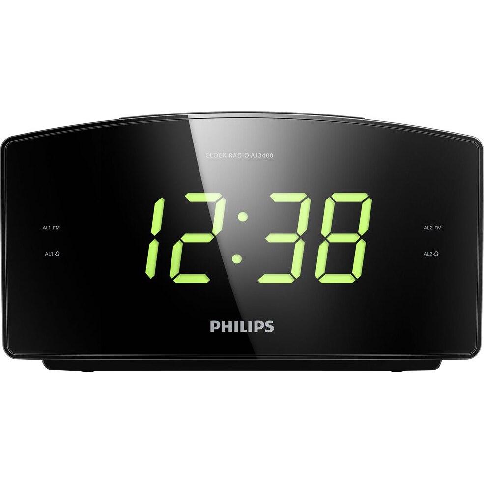 Fotografie Radio cu ceas Philips AJ3400/12, FM, Digital, Alarma dubla