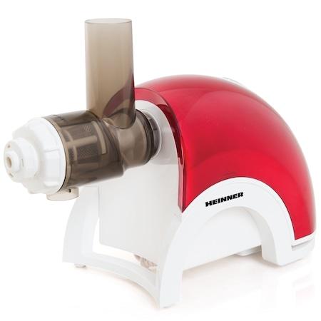 Masina de tocat carne Heinner MG-3000DC, 3000 W, 2 Kg/min, Rosu/Alb