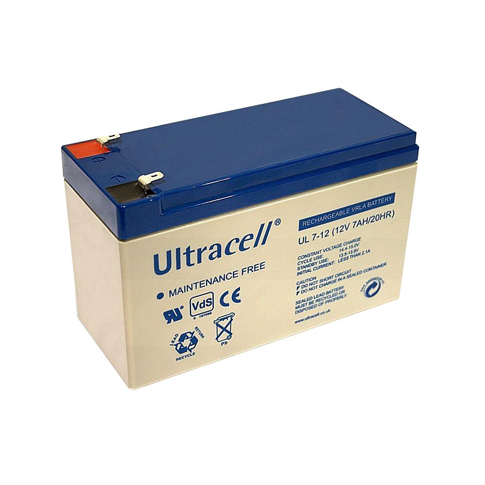 Fotografie Acumulator UPS Ultracell UL7-12, 12 V, 7 Ah