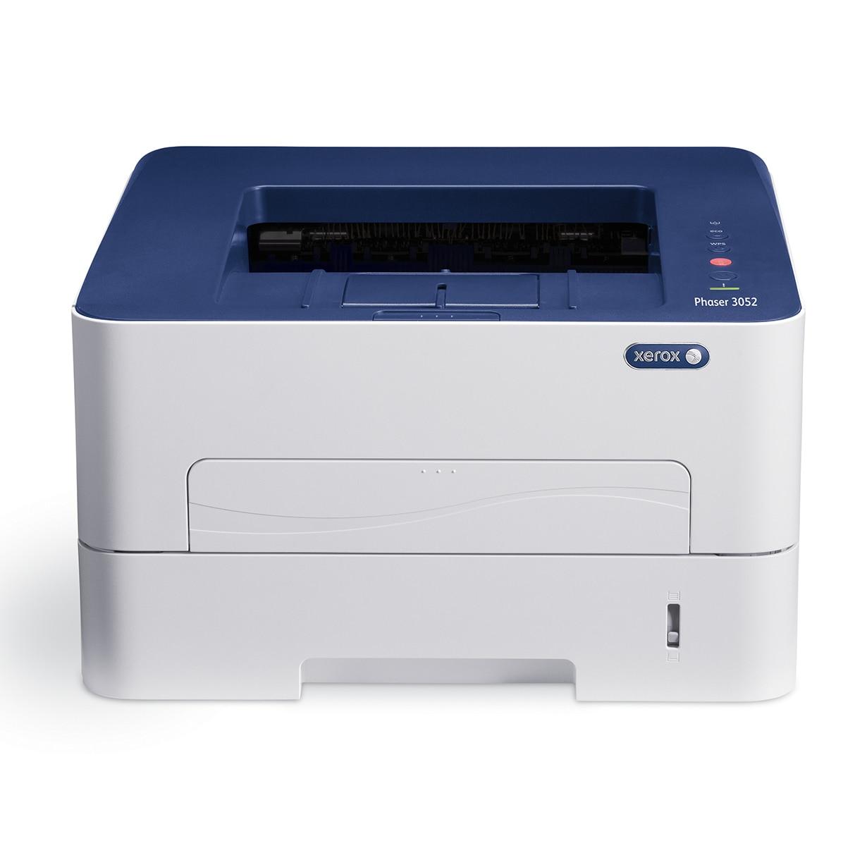 Fotografie Imprimanta laser alb-negru Xerox Phaser 3052, Wireless, A4