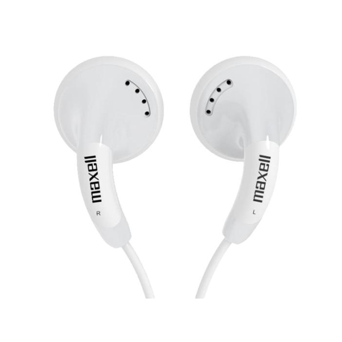 MAXELL Fülhallgató CB White 3.5mm jack, Fehér eMAG.hu