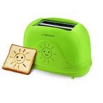 Esperanza EKT003 SMILE 750W 3 in1 multifunkciós zöld kenyérpirító