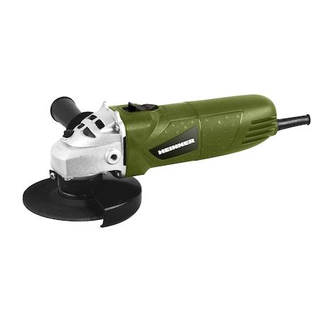 Ъглошлайф Heinner AGR06, 500 W, 12000 об/мин, 115 мм