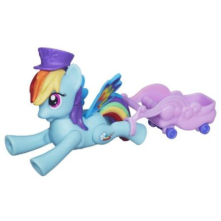 My Hasbro Little Pony - Rainbow Dash Zoom and Go Party