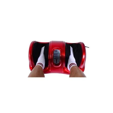 Többfunkciós, elektromos lábmasszírozó, piros