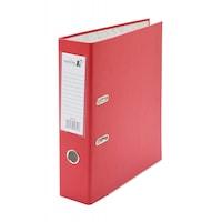 Biblioraft PVC Xprime, A4, 7.5 cm, rosu