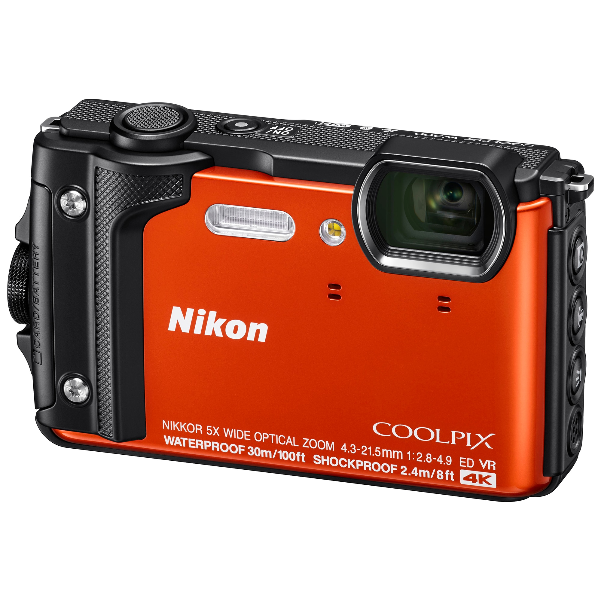 Fotografie Aparat foto digital Nikon COOLPIX W300 Holiday Kit, Portocaliu