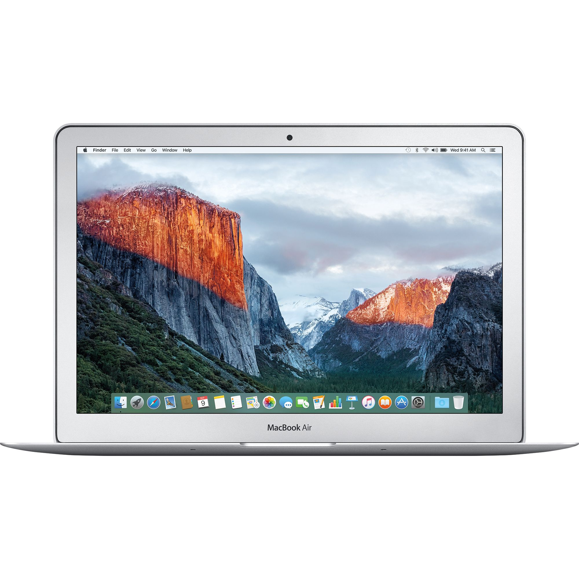 "Fotografie Laptop Apple MacBook Air 13 cu procesor Intel® Dual Core™ i5 1.80GHz, 13.3"", 8GB, 128GB SSD, Intel® HD Graphics 6000, ROM KB, Silver"
