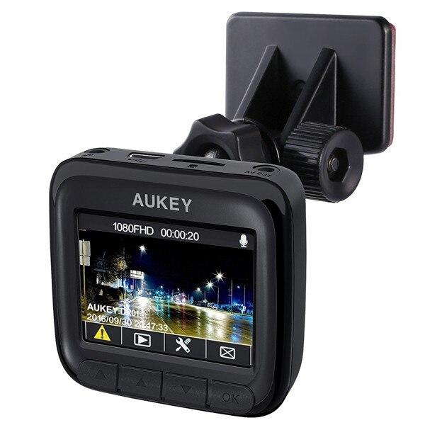 Fotografie Camera auto DVR Aukey DR-01, Full HD, unghi de filmare 170°, Night Vision, senzor G, WDR