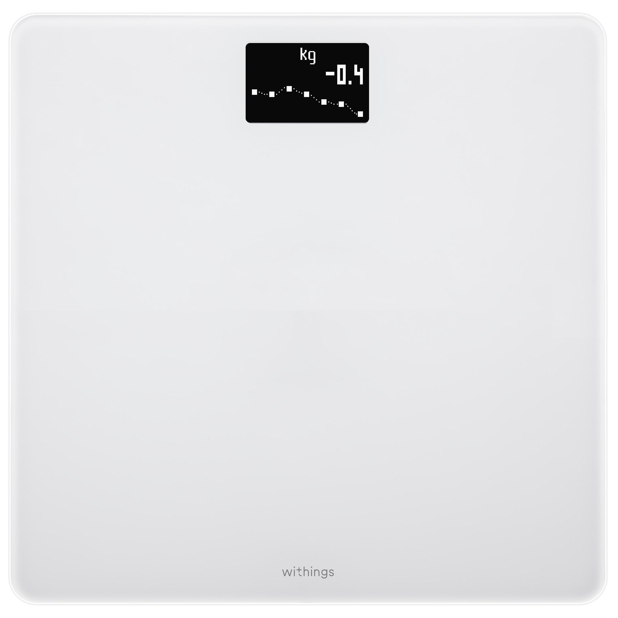Fotografie Cantar de persoane Withings Body BMI WBS06, Wi-fi, 180 Kg, Alb