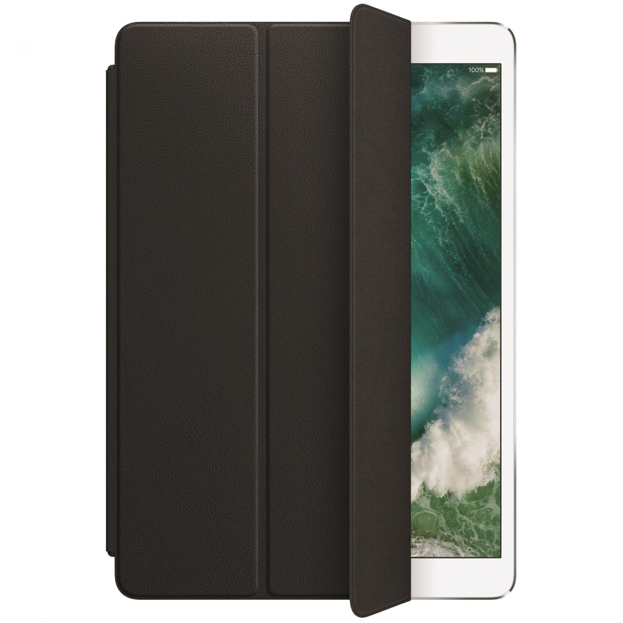 """Fotografie Husa de protectie Apple Smart Cover pentru iPad Pro 10.5"""", Piele, Black"""