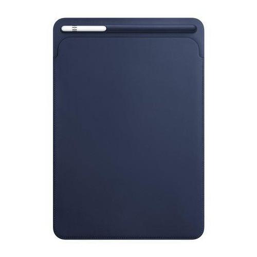 """Fotografie Husa de protectie Apple Sleeve pentru iPad Pro 10.5"""", Piele, Midnight Blue"""
