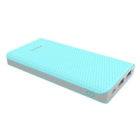 Acumulator extern Romoss Sense 10, 10000 mAh, iesire dual USB, Li-Polymer, albastru