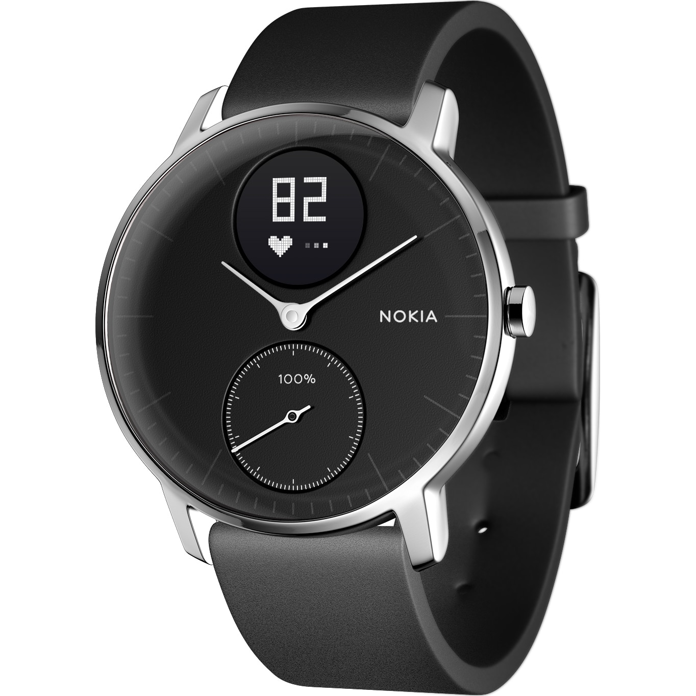 Fotografie Ceas smartwatch Withings Steel HR 36mm, Black
