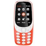 Мобилен телефон Nokia 3310 (2017), Dual SIM, Warm Red