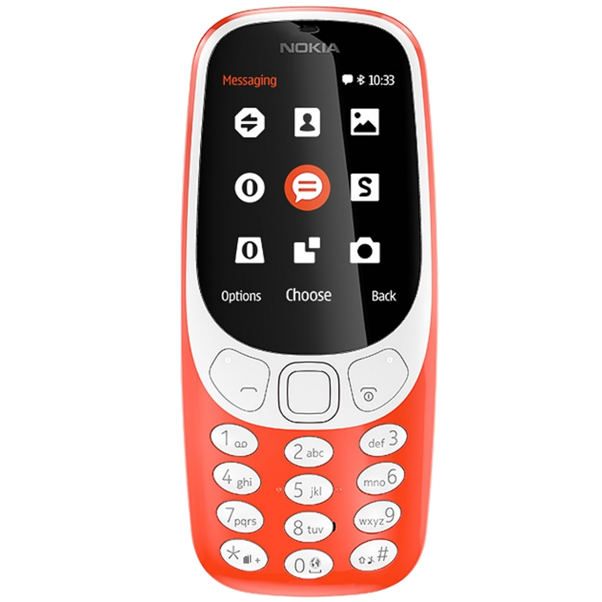 Fotografie Telefon mobil Nokia 3310 (2017), Dual SIM, Warm Red