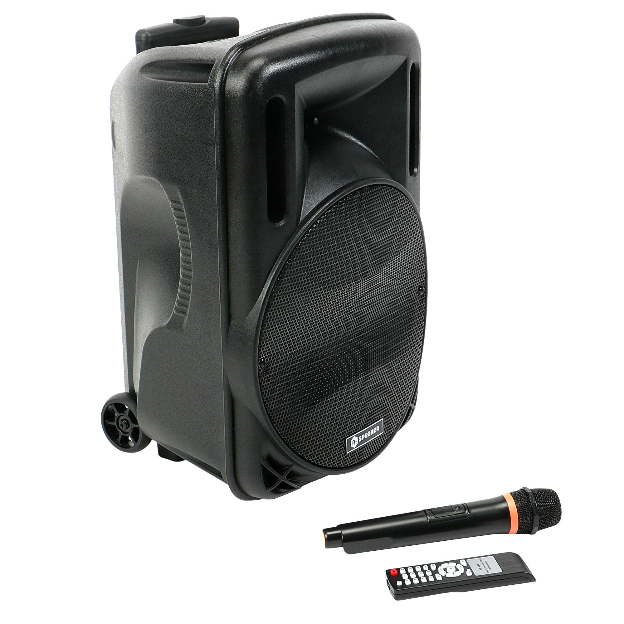 Fotografie Boxa portabila A+ Latino USB, SD Card, FM, Bluetooth