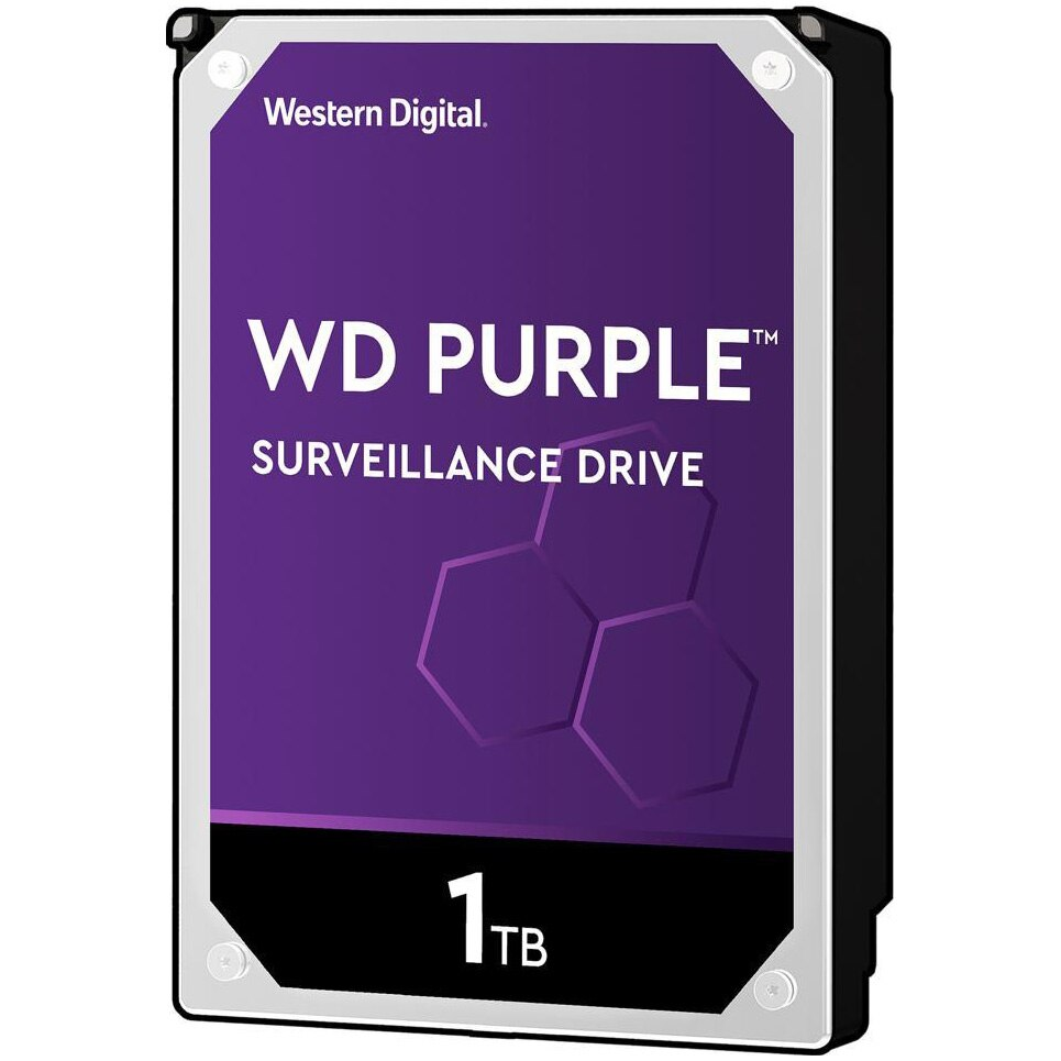 Fotografie HDD WD New Purple 1TB, 64MB cache, SATA III