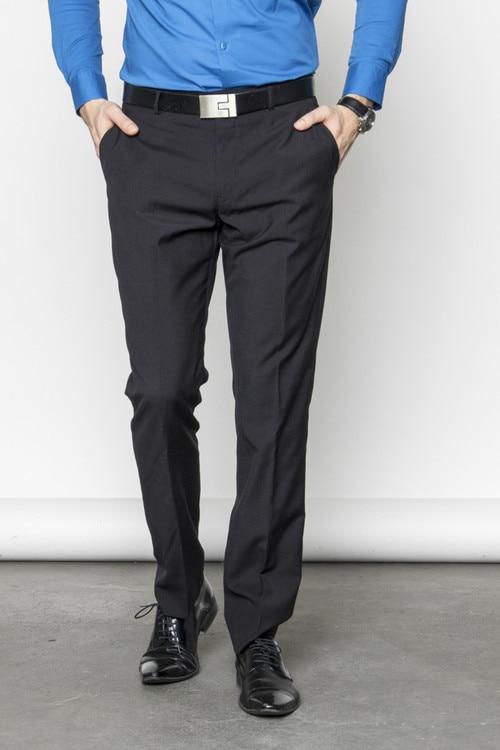 Férfi Casual öltöny nadrág Fekete (50)